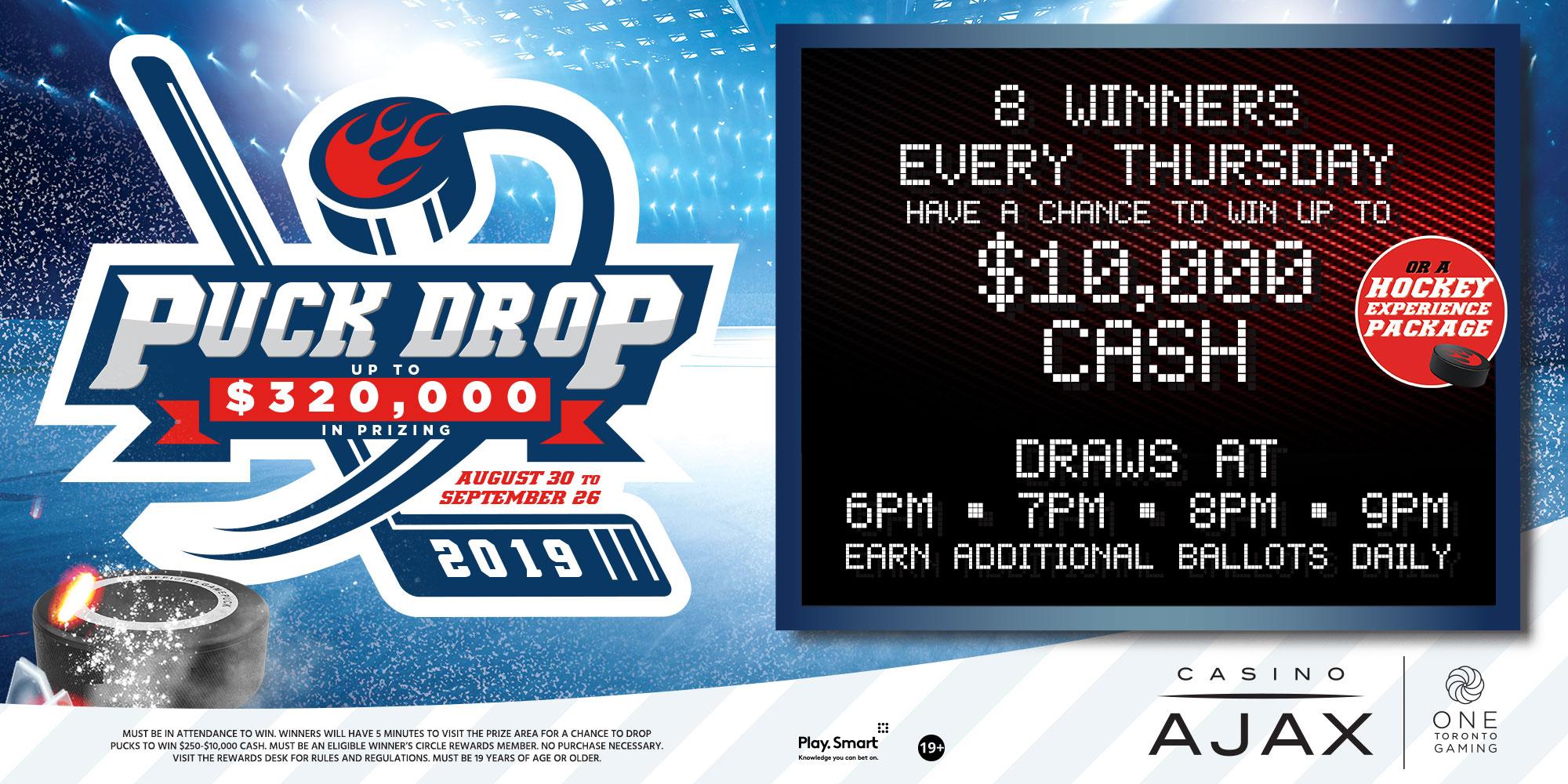 Puck Drop Promotion