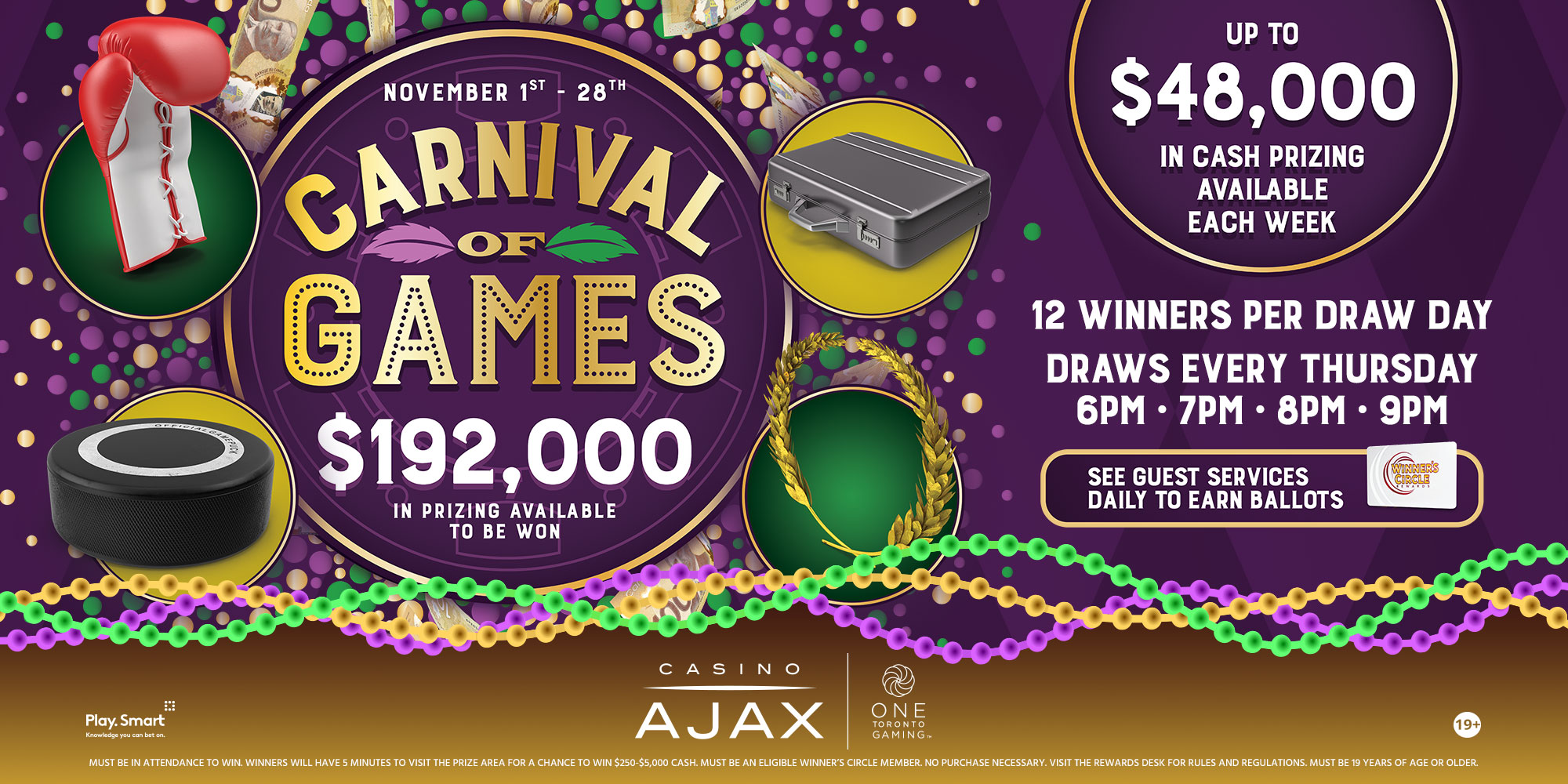 Carnival of Games Promotion
